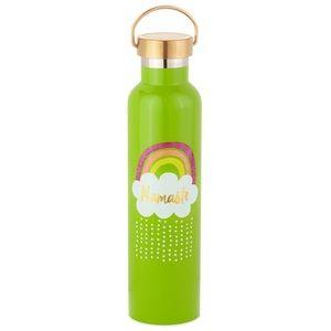 Hallmark Green Rainbow Namaste Water Bottle